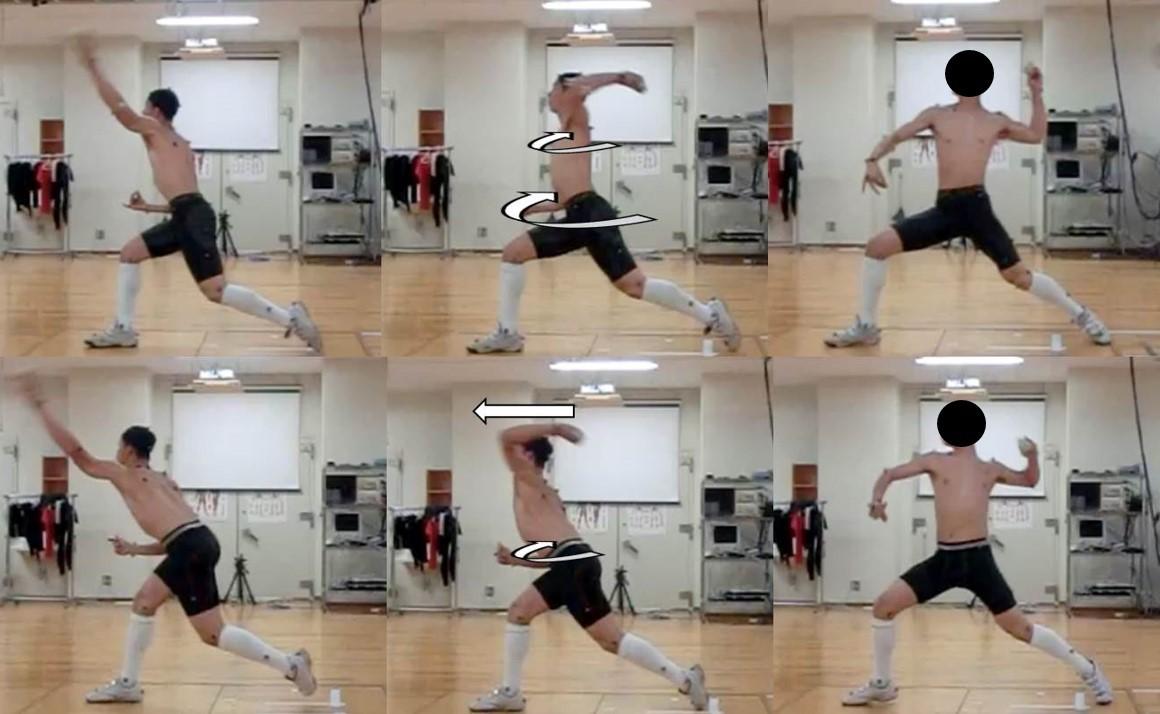 内転筋と投球動作